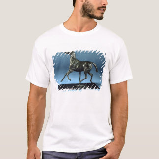 T-shirt Cheval de trot (bronze)