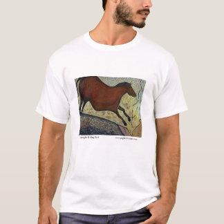 T-shirt Cheval en baisse