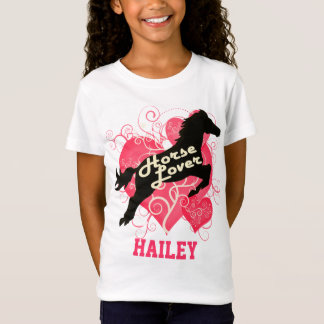 T-Shirt Cheval Hailey personnalisé par amant