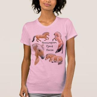 T-shirt Cheval norvégien de fjord personnalisable