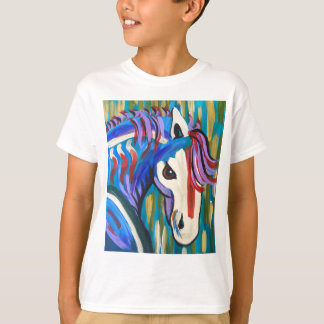 T-shirt Cheval sauvage