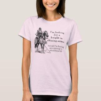 T-shirt Chevalier dans la chemise drôle d'armure brillante