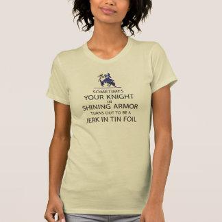 T-shirt Chevalier dans l'armure brillante