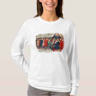 T-shirt Chevaliers mettant en gage leur allégeance