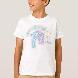 T-shirt Chevaux d'amour de paix