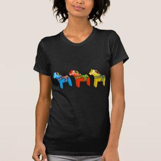 T-shirt Chevaux de Dala de Suédois