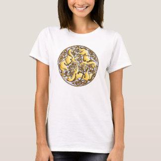 T-shirt Chevaux et noeuds celtiques en cercle