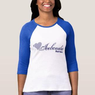 T-shirt Chevaux islandais