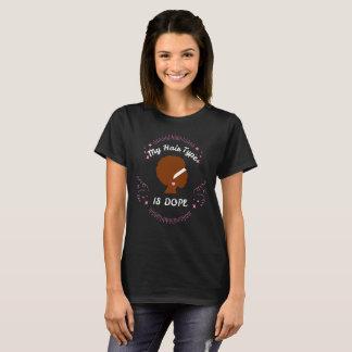 T-shirt Cheveux frisés naturels du cadeau   de cheveux de