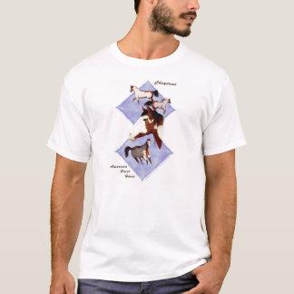 T-shirt Cheyenne, cheval américain de peinture
