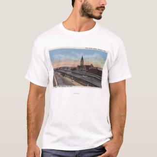 T-shirt Cheyenne, WY - gare de Pacifique des syndicats