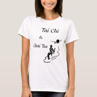 T-shirt chi 5, thé de tai de Chai, et, Chi de Tai