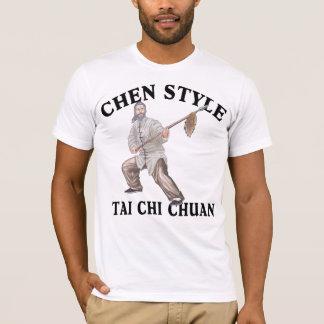 T-shirt Chi Chuan de Tai de style de Chen