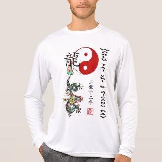 T-shirt Chi de Tai du monde et jour 2012 de Qigong