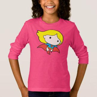 T-shirt Chibi bilatéral Supergirl