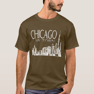 T-shirt Chicago ma chemise de ville