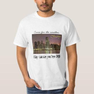 T-shirt Chicago - venue pour le temps