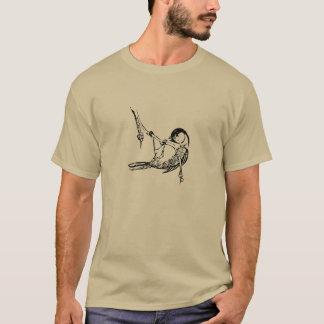 T-shirt Chickadee couvert par noir