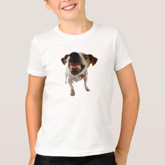 T-shirt Chien agressif - chien fâché - chien drôle