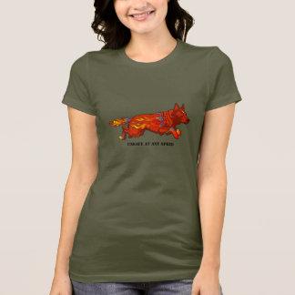 T-shirt Chien australien de bétail - peu sûr à toute