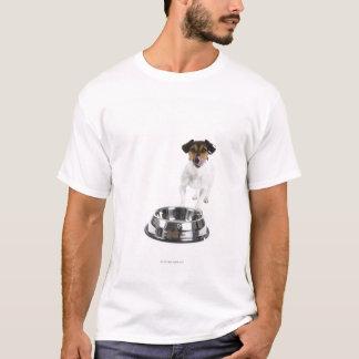 T-shirt Chien avec la grande cuvette