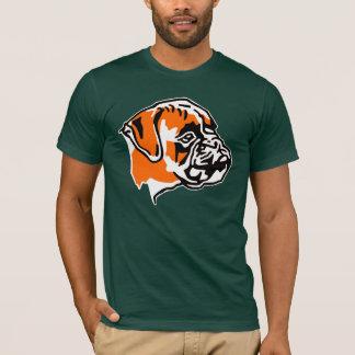 t-shirt chien boxer
