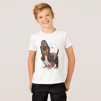 T-shirt chien de basset