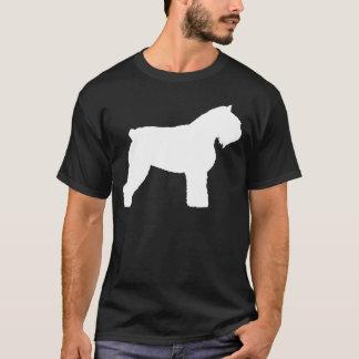 T-shirt Chien de DES Flandres de Bouvier (dans le blanc)