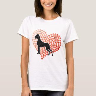 T-shirt Chien de great dane