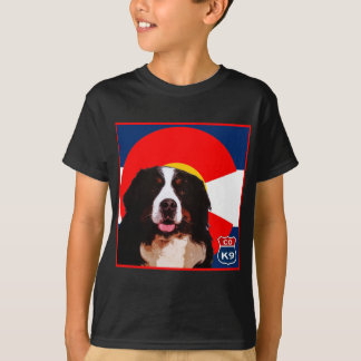 T-shirt Chien de montagne du Colorado Bernese
