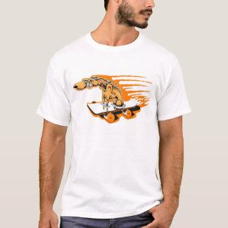 T-shirt Chien de patin
