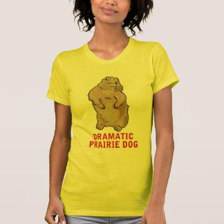 T-shirt Chien de prairie dramatique