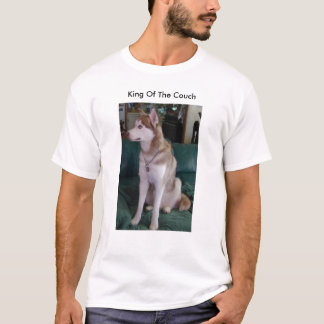 T-shirt Chien de Rory, le Roi Of The Couch