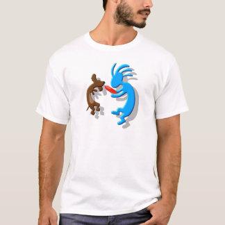 T-shirt Chien de saucisse de Kokopelli