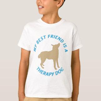T-shirt Chien de thérapie de meilleur ami