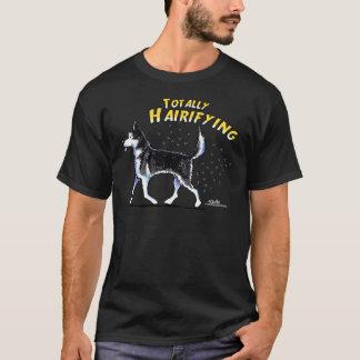 T-shirt Chien de traîneau sibérien totalement Hairifying