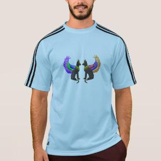T-shirt chien égyptien avec des ailes