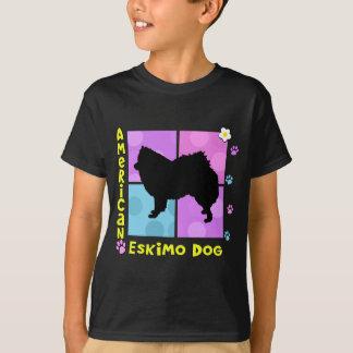 T-shirt Chien esquimau américain super