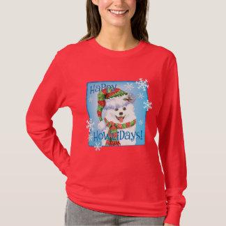 T-shirt Chien esquimau heureux de Howliday