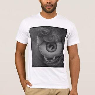 T-shirt Chien et chemise de boule d'oeil