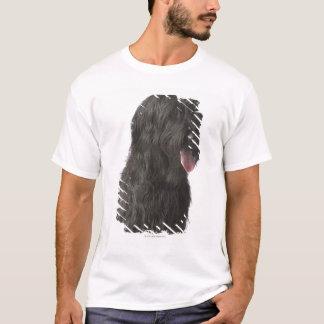 T-shirt Chien noir, Briard