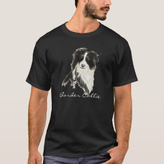 T-shirt Chien o de border collie