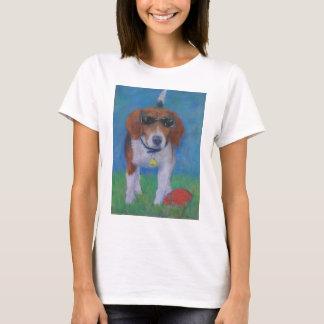 T-shirt Chien Sparky de cool de chien