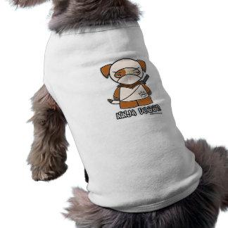 T-shirt Chienchien de Ninja ! Habillement d'animal familie