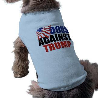 T-shirt Chiens contre Donald Trump