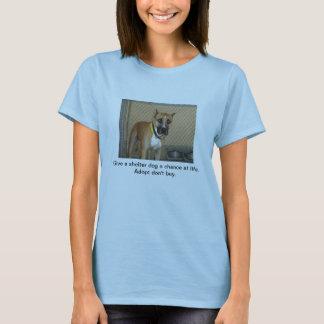 T-shirt Chiens d'abri