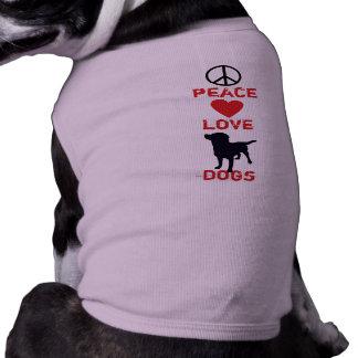 T-shirt Chiens d'amour de paix
