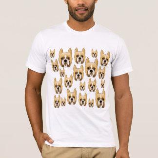 T-shirt Chiens, un motif des boxeurs