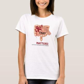 T-shirt Chiez que des sujets ! Soutenez la maladie de