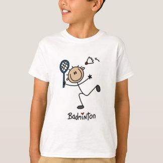 T-shirt Chiffre de bâton de badminton